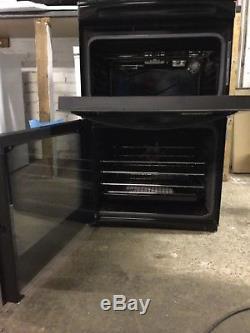 Zanussi ZCV48300BA Electric Cooker With Ceramic Hob, 55cm / NEW