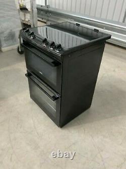 Zanussi ZCV66050BA 60cm Double Oven Electric Cooker with Ceramic Hob #LF23960