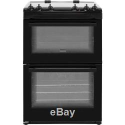 Zanussi ZCV66050BA 60cm Electric Cooker with Ceramic Hob Black HA2502