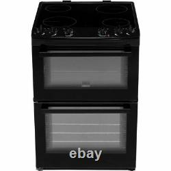 Zanussi ZCV66050WA Free Standing A/A Electric Cooker with Ceramic Hob 60cm