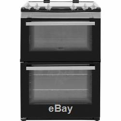 Zanussi ZCV66050XA Free Standing A/A Electric Cooker with Ceramic Hob 60cm