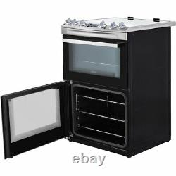 Zanussi ZCV66250BA Free Standing A/A Electric Cooker with Ceramic Hob 60cm