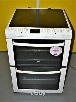 Zanussi ZCV663MWC 60cm Electric Cooker Ceramic Hob- White