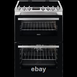 Zanussi ZCV69350XA Electric Cooker with Ceramic Hob Stainless Steel HA2470