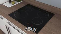 Zanussi ZEI6840FBA Touch Control 59cm Four Zone Induction Hob 13 Amp HW173811-01