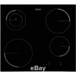 Zanussi ZEI6840FBV 59cm 4 Burners Induction Hob Touch Control Electronic