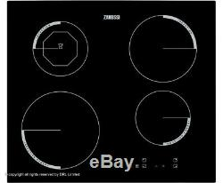 Zanussi ZEI6840XBA Built In Electric Induction Touch Control Hob 60cm