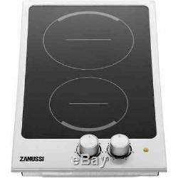 Zanussi ZES3921IBS 30cm 2 Burners Black Ceramic Hob + 1 Year Warranty (New)