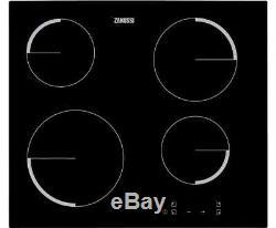 Zanussi ZEV6240FBA 59cm 4 Burners Ceramic Hob Touch Control Black New