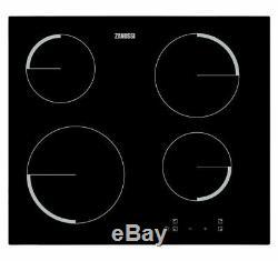 Zanussi ZEV6240FBV 60cm Black Touch Control Ceramic Hob
