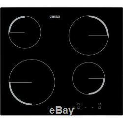 Zanussi ZEV6240FBV 60cm Black Touch Control Ceramic Hob 1 Year Warranty New