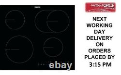 Zanussi ZHRX643K 59cm Black Ceramic Hob + 1 Year Warranty (Brand New)